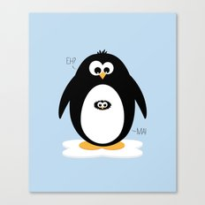 Penguin-egg  Canvas Print