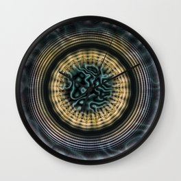 Primal Energy Vibrations Wall Clock