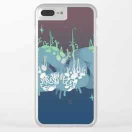 1013_4 Clear iPhone Case