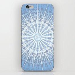 Blue Mandala 2 iPhone Skin