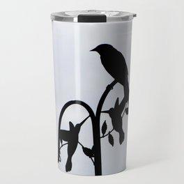Silhouette of a Bird Travel Mug