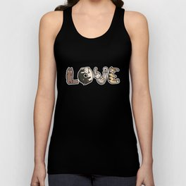 Cute & Adorable LOVE Kittens and Cats Unisex Tank Top