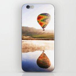 Hot Air Balloon iPhone Skin