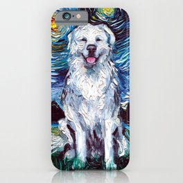 Great Pyrenees Night iPhone Case