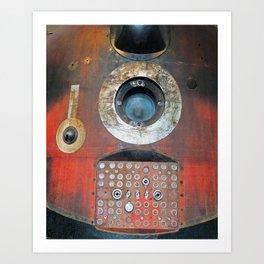 soyuz space capsule Art Print