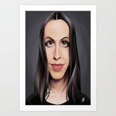 Celebrity Sunday ~ Alanis Morissette Art Print