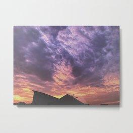 Pastel Skies Metal Print