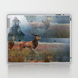 Illusion Stag Laptop & iPad Skin