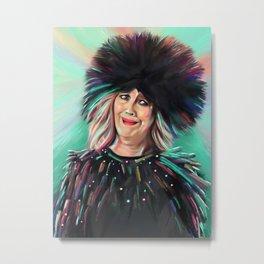 Moira Rose - Schitt's Creek - Catherine O'Hara - Bebe - Artwork Metal Print