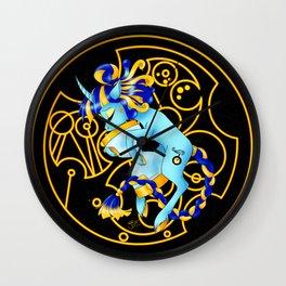 Ananta the Eternal [Black] Wall Clock