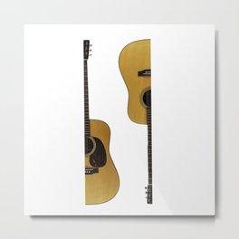 guitar t shirt Metal Print