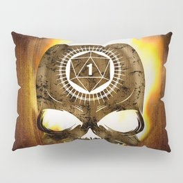 D20 Death Comes for Us All Pillow Sham