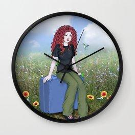 travelogue Wall Clock