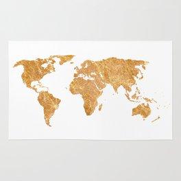 Gold World Rug