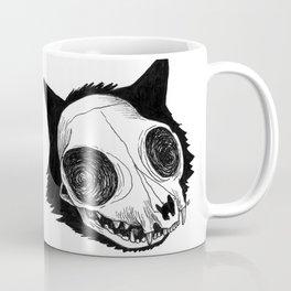 Cat Skull Coffee Mug