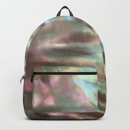 Shimmery Greenish Pink Abalone Mother of Pearl Backpack