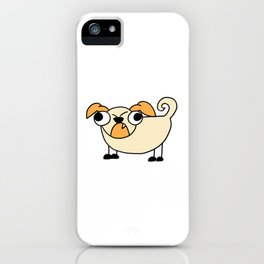 Dog Funny looking Design Print iPhone Case