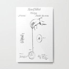 Yo-Yo: Original Patent Metal Print