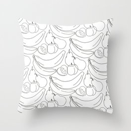 See what you want. Throw Pillow