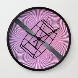 Geometric Calendar - Day 21 Wall Clock