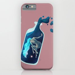 Creation in the bottle iPhone Case
