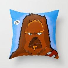 Chewie Throw Pillow