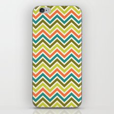 Citronique Series: Chevron Grand Sorbet iPhone & iPod Skin