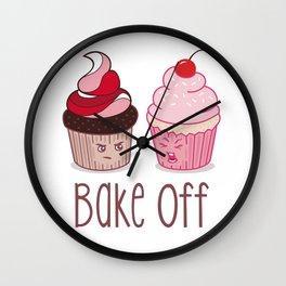Bake Off Cupcake Wars Wall Clock