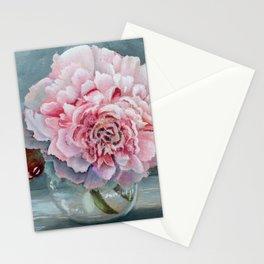 Peony Memories Flower Painting Stationery Cards