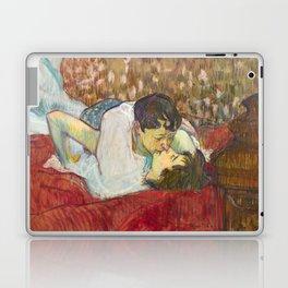 """Henri de Toulouse-Lautrec """"In Bed. The Kiss"""" Laptop & iPad Skin"""