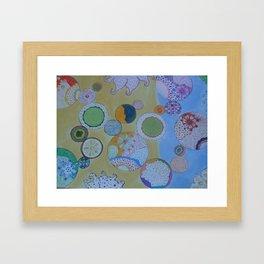 Circle Around Framed Art Print