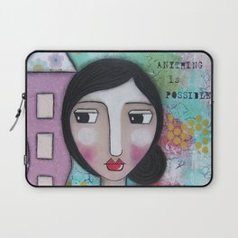 Remember anythin is Possible Laptop Sleeve