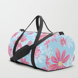Floral Dream Springtime Flowers Duffle Bag