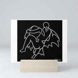 Leda and the Swan 3 Mini Art Print