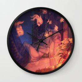 In the depths of sleep Wall Clock