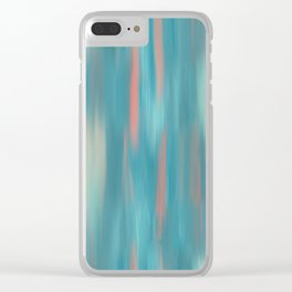 Swimming Salmon Clear iPhone Case