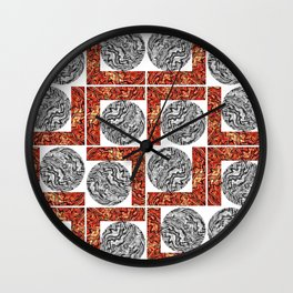 Maze of Mazes Wall Clock