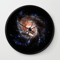 Ride The Spiral Wall Clock