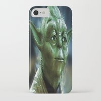 yoda iPhone & iPod Cases featuring Yoda by Robin Curtiss