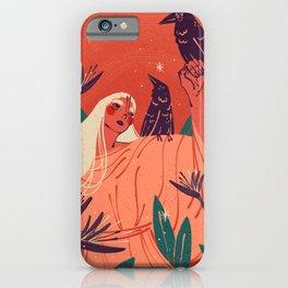 Birds of Paradise Illustration   Alex Gold Studios iPhone Case