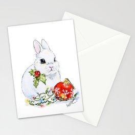 Christmas Bunny Stationery Cards
