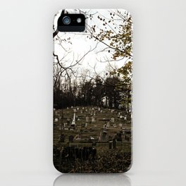 Spooky town iPhone Case