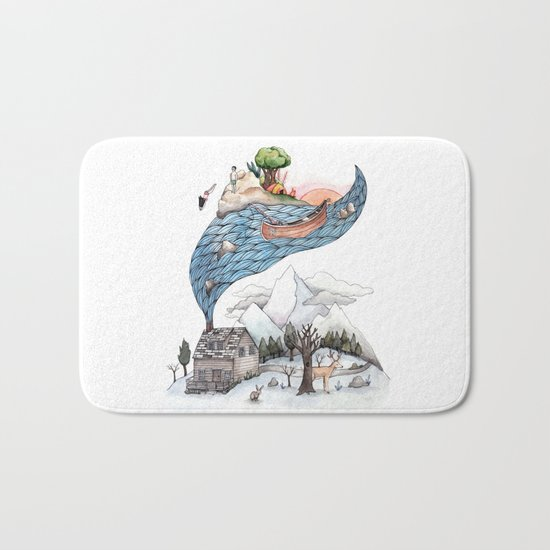 Invincible Summer Bath Mat