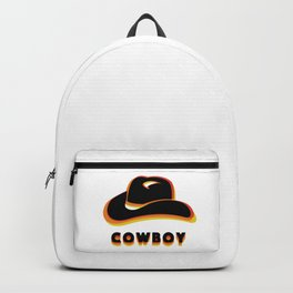 Retro Cowboy Backpack