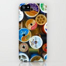 Spools iPhone Case