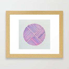 Vector Framed Art Print