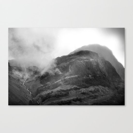 Glencoe, Highlands, Scotland. Canvas Print