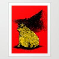 Dog3 Art Print