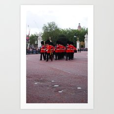 Soldiers March 24 Art Print