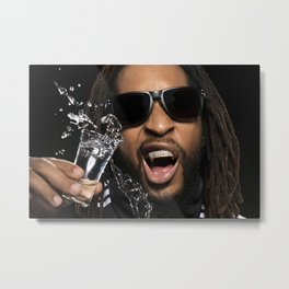 Bandwagon Asia Lil Jon, Artist, Bandwagon, Music media championing, rap, Lil Jon - Crunk Rap Metal Print